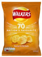 Walkers Crisps Roast Chicken 32 x 32.5gm
